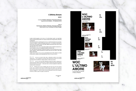 L'Ultimo Amore by ualuba.org indipendent publishing house